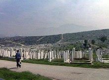 Friedhof in Sarajewo, Bild: ap