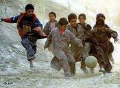 Kicken in Afghanistan, Foto: AP