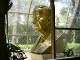 Skulptur des ehemaligen Präsidenten Hafis al Assad, Foto: Larissa Bender