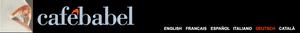 Logo: 'Café Babel'