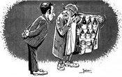 In Libyen gedeihen heimliche Alkoholproduktion und Schmuggel - Karikatur von Muhammed az-Zwawi
