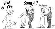 Karikatur von Dilem