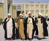 Iranische Geistliche in Ghom, Foto: dpa