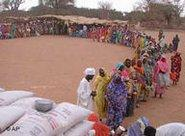 Flüchtlinge im Sudan, Foto: AP
