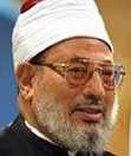 Scheich Yusuf al-Qaradawi ist regelmäßig auf al-Jazeera zu sehen und ist auch Mitbegründer des Internetportals islamonline. Foto: www.qaradawi.net