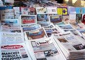 Zeitungsstand in Marrakesch, Foto: Larissa Bender