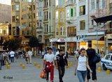 Istiklal-Straße in Istanbul; Foto: dpa