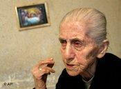 Armenische Augenzeugin des Völkermords; Foto: AP