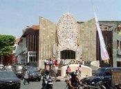 Denkmal auf Bali; Foto: dpa