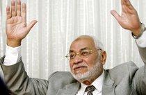 Der geistige Führer der Muslimbruderschaft Mohammad Mehdi Akef, Foto: AP