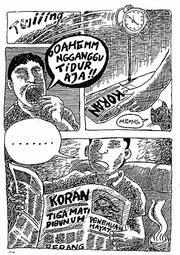 Indonesischer Comic-Band, &copy Situs Comic Underground