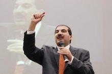 Egyptian TV preacher Amr Khaled; photo: Ikhlas Abbis