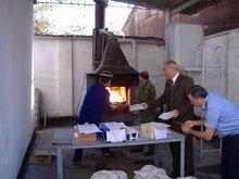 Verbrennung konfiszierter Drogen in Tadschikistan, Foto: Tobias Asmuth