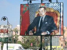 Der marokkanische König Mohammed VI; Foto: Larissa Bender