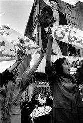 Frauenkundgebung für Khatami in Teheran, Foto: Kai Wiedenhöfer