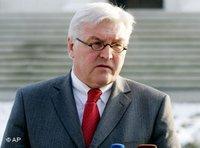 Außemninister Steinmeier, Foto: AP