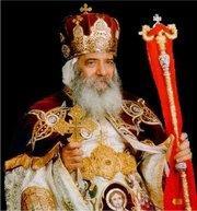Der koptische Papst Shenouda III., Foto: www.coptic-churches.ch