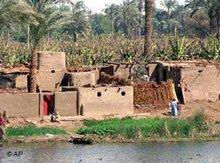 Häuser am Nil, Foto: AP