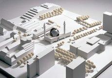 Entwurf des Kölner Architekturbüros Böhm für eine Moschee; Foto: http://www.boehmarchitektur.de/deutsch/de-index.html