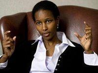 Ayaan Hirsi Ali, ein aus Somalia stammende niederländische Abgeordnete; Foto: AP
