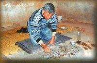 Mohammed Nadrani in seiner alten Zelle; Photo: Mohammed Nadrani