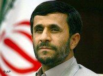 Mahmoud Ahmadinedschad; Foto: AP