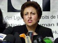 Die iranische Friedensnobelpreisträgerin Shirin Ebadi; Foto: AP