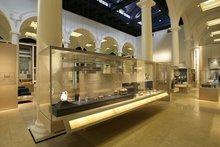 Innenraum der Jameel Gallery for Islamic Art