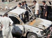 Selbstmordattentat im Irak; Foto: AP