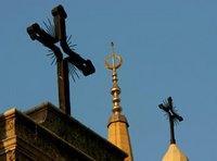 Kreuz und Halbmond; Foto: AP
