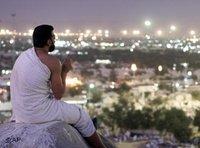 Betender Muslim in der Nähe von Mekka; Foto: AP