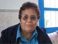 Die marokkanische Frauenrechtlerin Aicha Ech-Channa; Foto: Beat Stauffer