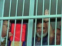 Ocak Isik Yurtcu hinter Gittern; Foto: AP