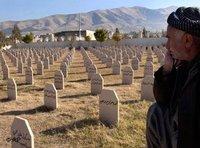 Kurdischer Friedhof bei Halabdscha; Foto: AP