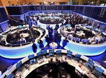 Neu gestalteter Handelssaal der Börse in Frankfurt; Foto: AP