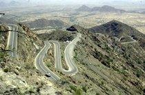 Gebirge im Jemen; Foto: www.irinnews.org