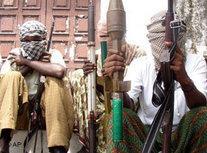 Somalische Rebellen Miliz; Foto: AP