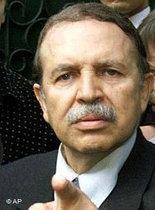 Algeriens Präsident Abdelaziz Bouteflika; Foto: AP