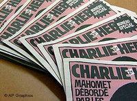 Frankreichs Satire-Zeitung Charlie Hebdo; Foto AP