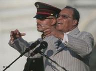 Louis Farrakhan, der Führer der Nation of Islam-Gruppierung; Foto: AP
