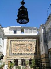 Iwan eines Damaszener Hauses; Foto: Mona Sarkis