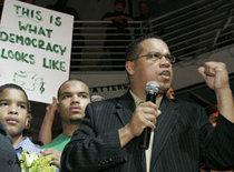 Keith Ellison ist der erste Muslim, der in den US-Kongress gewählt wurde; Foto: AP