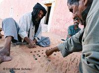 Kriegsveteranen der Polisario-Bewegung; Foto: DW