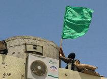 Hamas erobert den Gazastreifen; Foto: AP