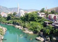 Mostar Moschee in Bosnien; Foto: DW