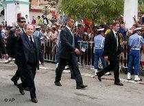 Der algerische Präsident Abdelaziz Bouteflika; Foto: AP