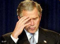 US-Präsident Bush; Foto: AP