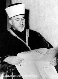 Der Großmufti von Jerusalem Hajj Amin al-Husseini; Foto: dpa