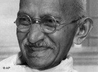 Mohandas Karamchand Gandhi; Foto: AP