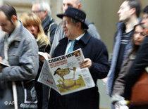 Karrikaturenstreit Charlie Hebdo vor einem französischen Gericht; Foto: AP